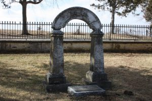 Governor Meredith Miles Marmaduke gravesite. Missouri's 8th governor in 1844