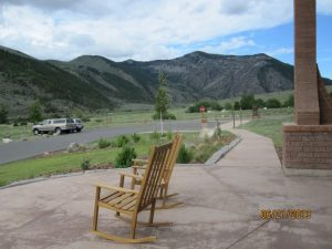 View from the Porch of the Main Visitor Center at Lewis & Clark Caverns State Park